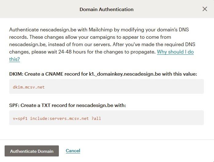 Configurer les DNS